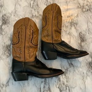 Justin Boots Western Cowgirl Country Leather